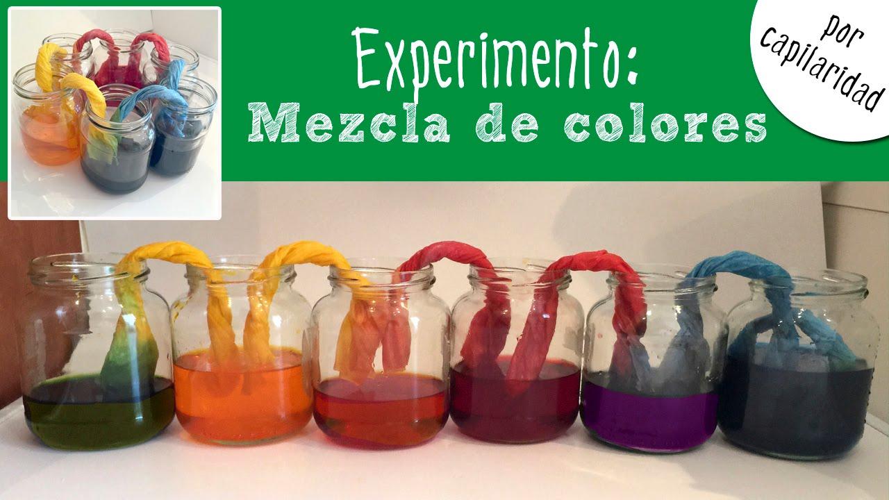 jugando con la ciencia colores y pequeño azul y pequeño amarillo