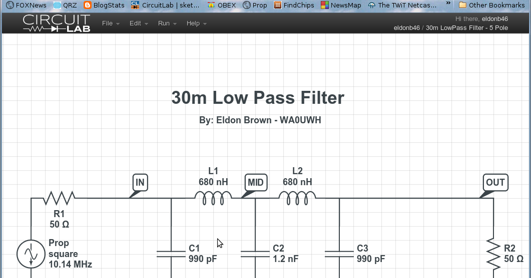 how to build a low pass filter