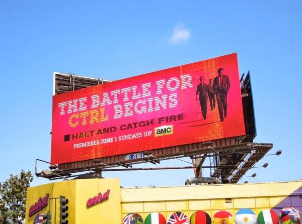 Halt and Catch Fire season 1 billboard