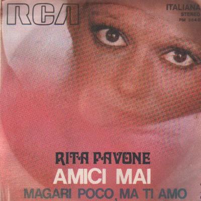Sanremo 1972 - Rita Pavone - Amici Mai