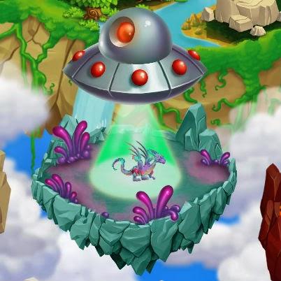 Dragon City Uzaylı Adası Hilesi