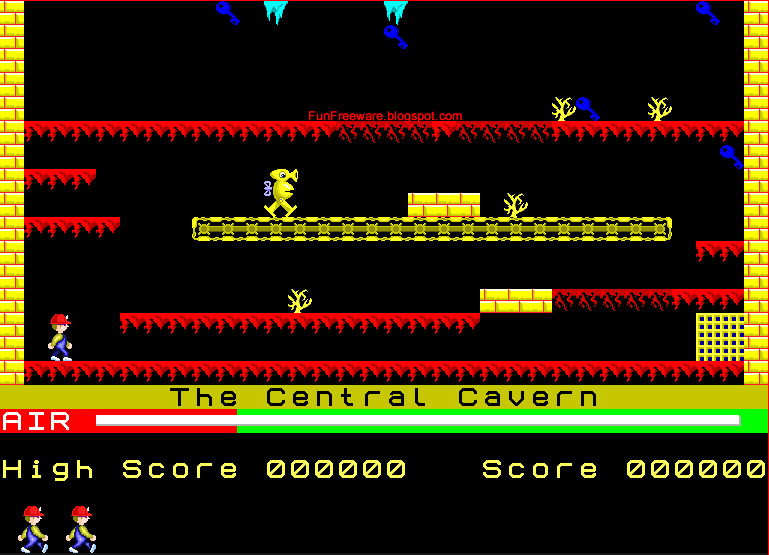 Manic Miner Screenshot Image