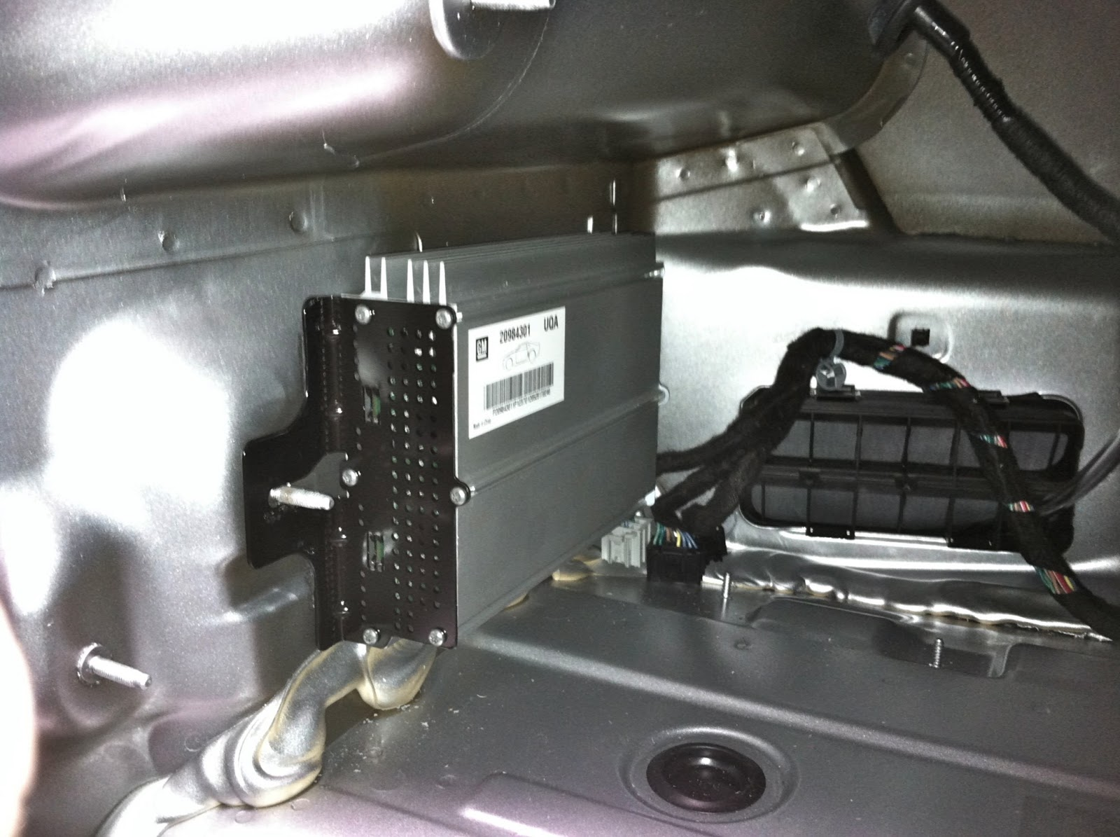 2012 Chevy Camaro Factory   Bypass on toyota avalon 2008 fuse box locations