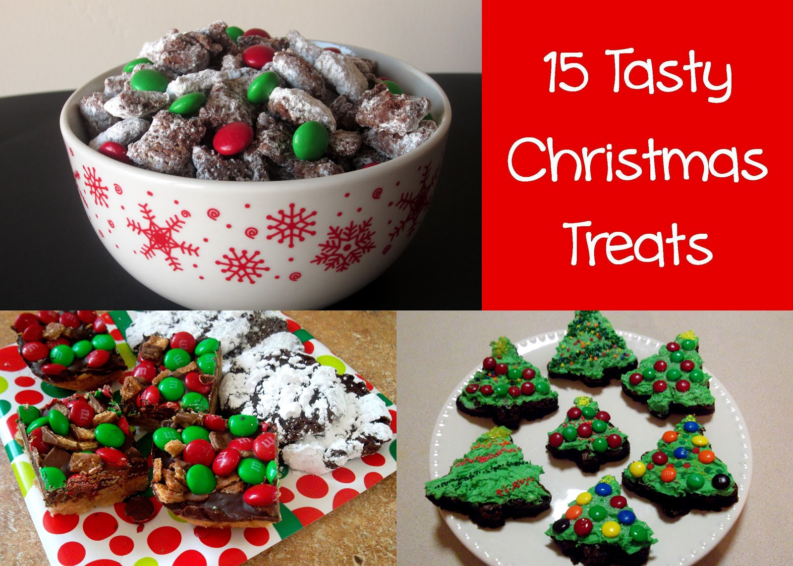 15 Tasty Christmas Treats - Love to be in the Kitchen