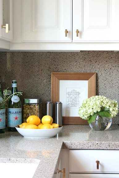 Belle maison styling 101 the kitchen countertop for Kitchen counter decor