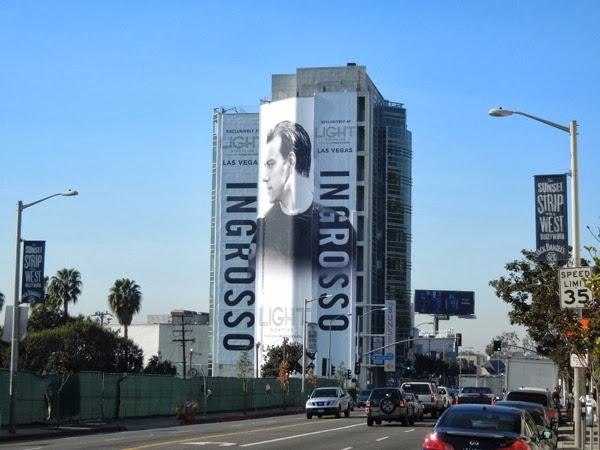 Giant Ingrosso Light nightclub Las Vegas billboard Sunset Strip