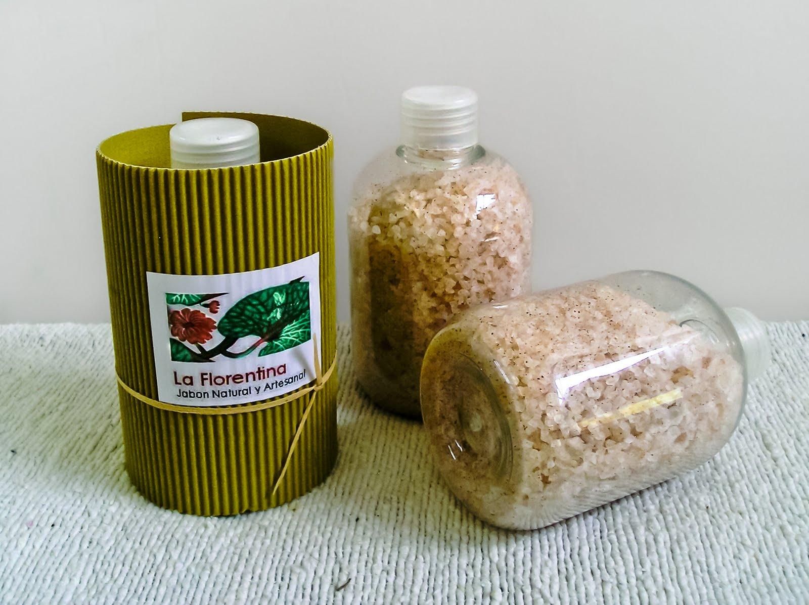 Baño De Tina Con Sal:Ingredientes: Sal marina, sal de epson, aceite de almendras dulces