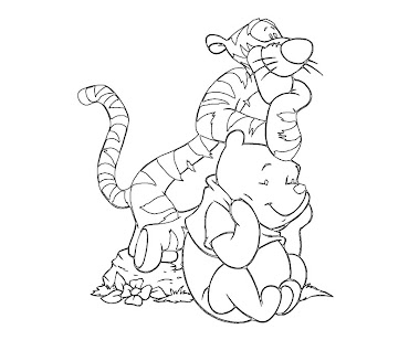 #1 Winnie The Pooh Coloring Page