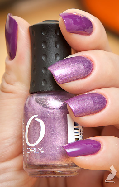 Bell Air Flow #711 + Orly Grape Glitz