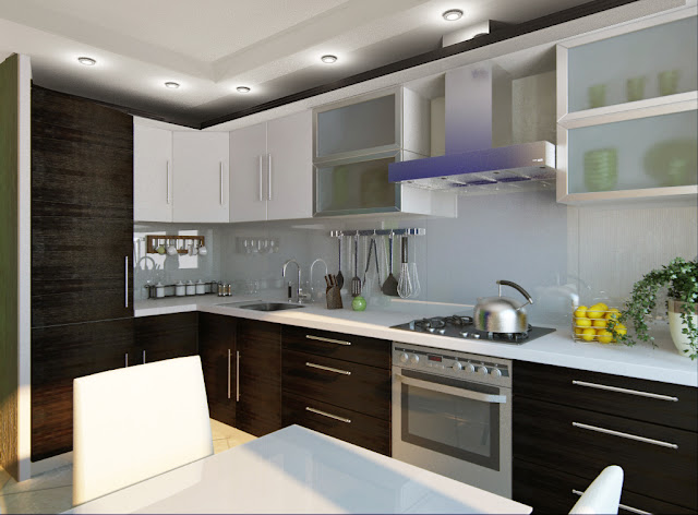 Kitchen design ideas small kitchens small kitchen design for Small kitchen remodel designs