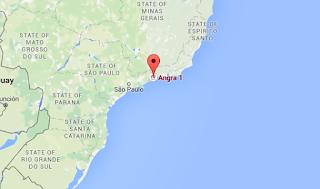 localizações das centrais nucleares no brasil