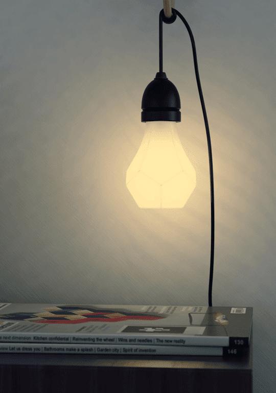 Nanoleaf Gem - snygg, energisnål, dimringsbar led-lampa | www.var-dags-rum.se