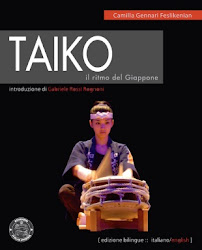 """Taiko. Il ritmo del Giappone"" (""Taiko. The rhythm of Japan"")"