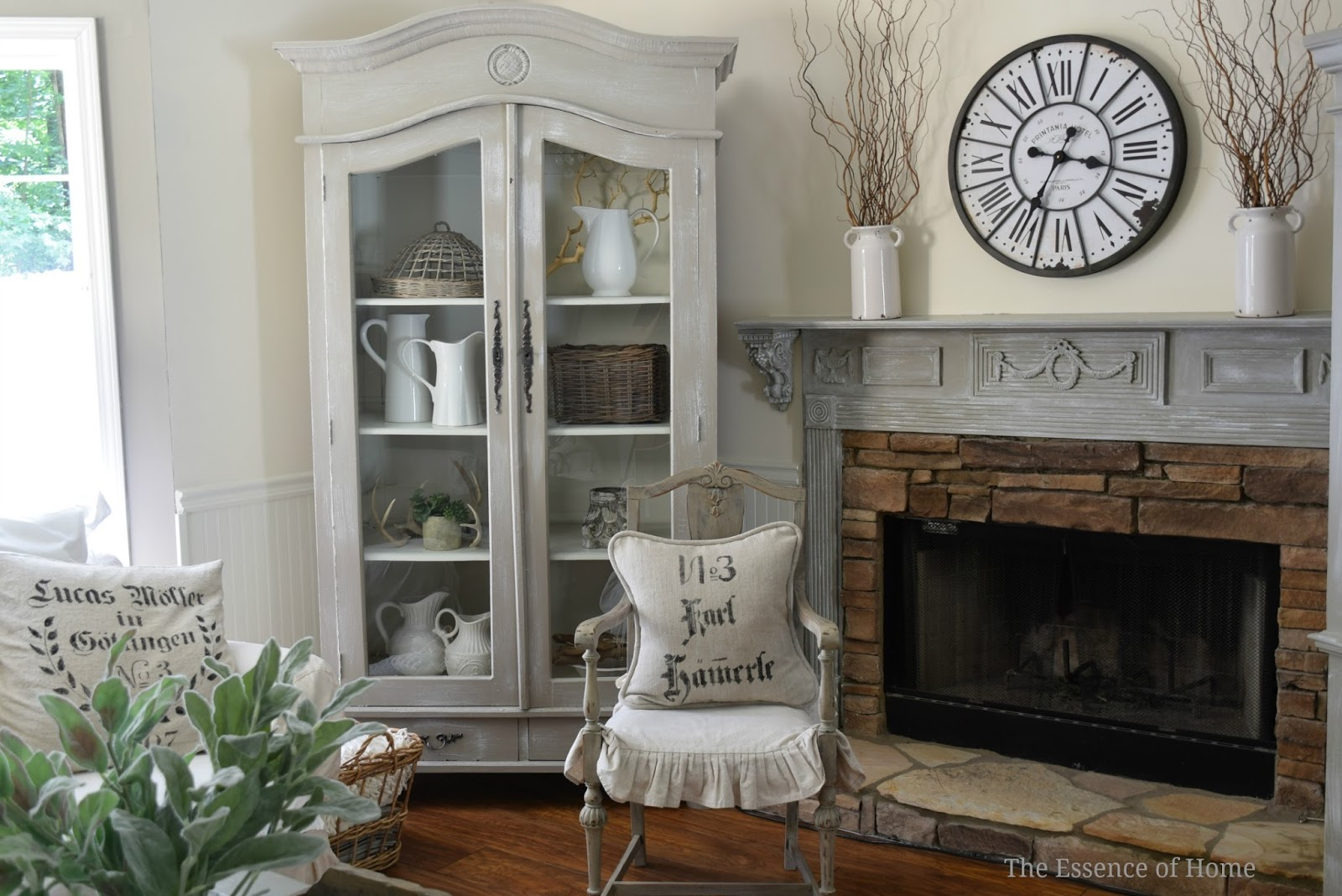 the essence of home european style clock