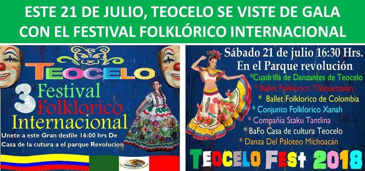 GALA CON EL FESTIVAL FOLKLÓRICO INTERNACIONAL