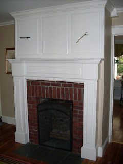 Custom Fireplace Mantel More Mantel Fun