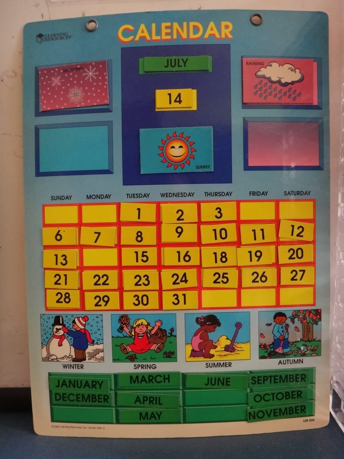 Kindergarten Calendar Time Activities : Little stars learning our activities of circle time