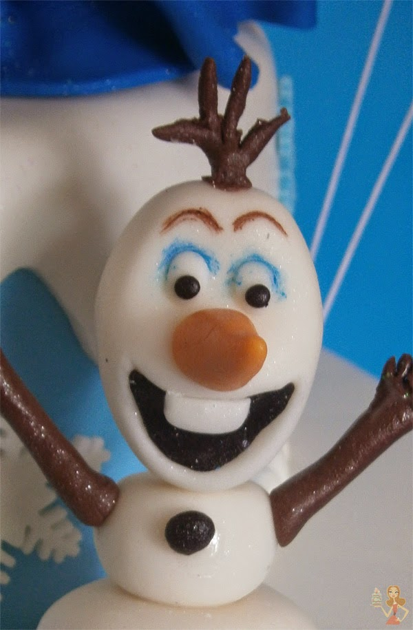 make me a cake frozen olaf figure tutorial. Black Bedroom Furniture Sets. Home Design Ideas