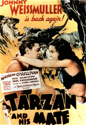 Image result for tarzan and his mate 1934