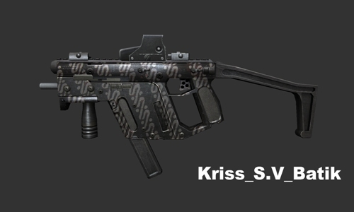 Kriss SV Batik From Point Blank To Counter Strike