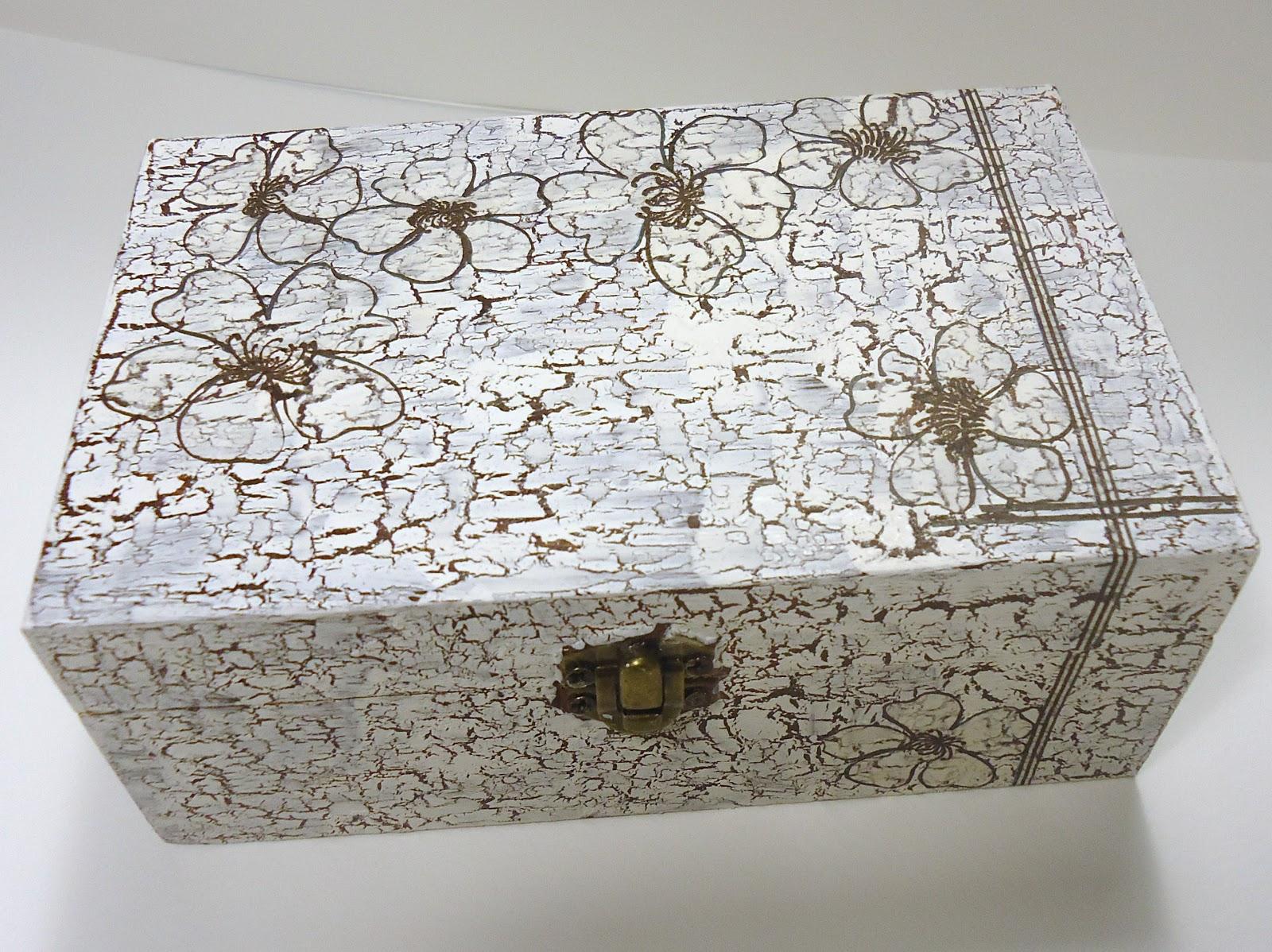 Cofre de madera craquelado takuare 39 e - Craquelado de madera ...