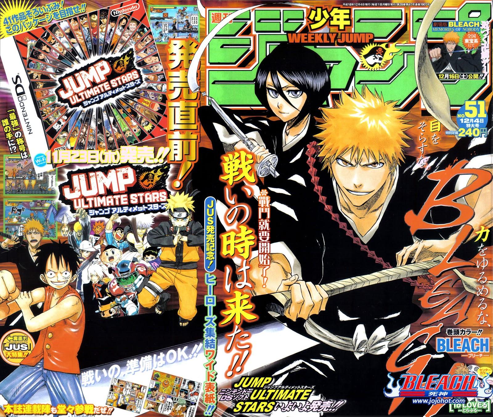 PharaoDopazo+: Weekly Shonen Jump Pure Rankings 2006