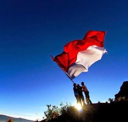 Gambar DP Status Hari Kemerdekaan 17 Agustus Bendera Indonesia Merah Putih