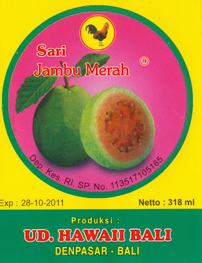 JAMBU PL HAWAI BALI