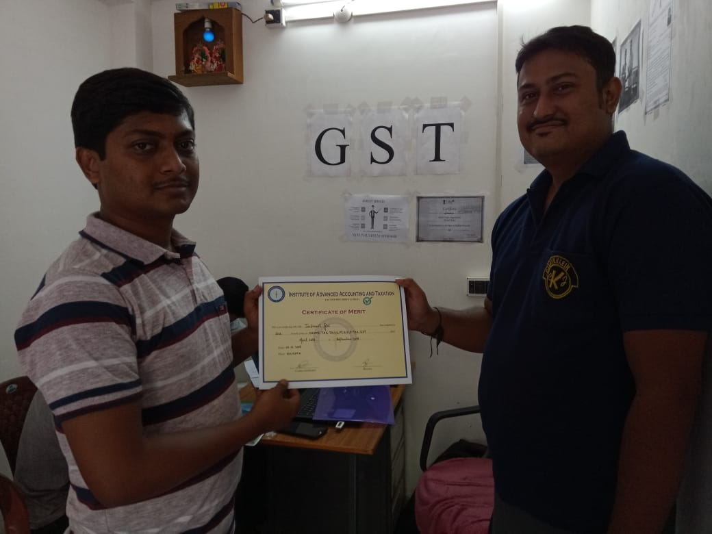 GST Training is Going On.