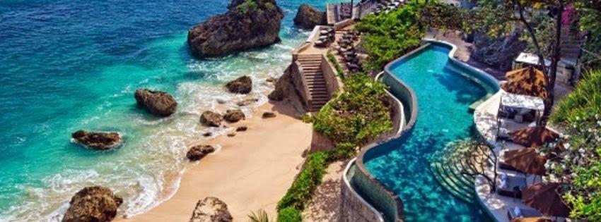 Couverture pour facebook Bali