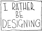 I rather be designing