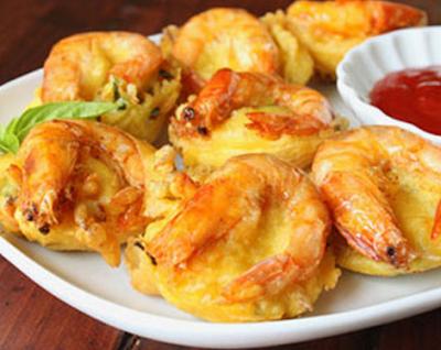 Resep cara membuat bakwan udang enak dan gurih