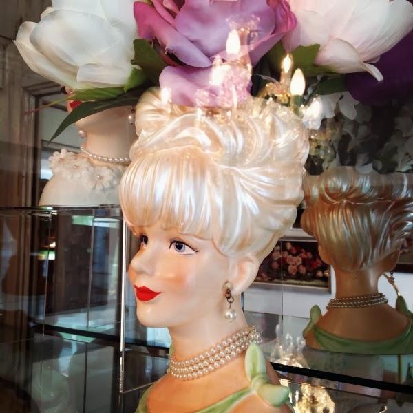 C Dianne Zweig Kitsch N Stuff Lovely Ladies Vintage Head