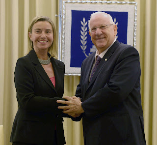 EU 'Foreign Minister' Meets Top Israeli Figures