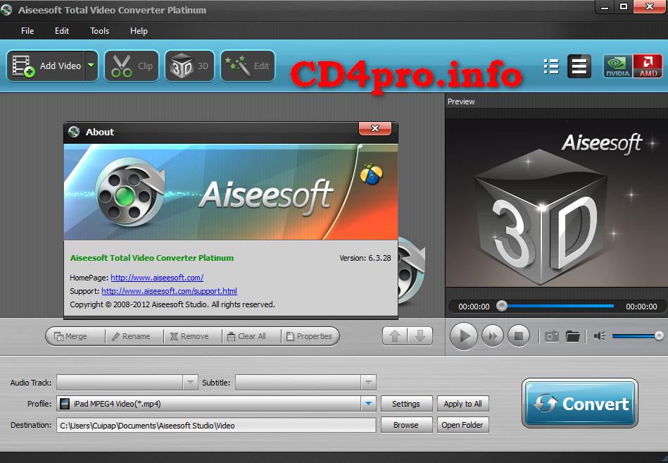 Aiseesoft total video converter platinum 6 3 28 portable89 aiseesoft total video converter platinum 6 3 28 portable ccuart Images