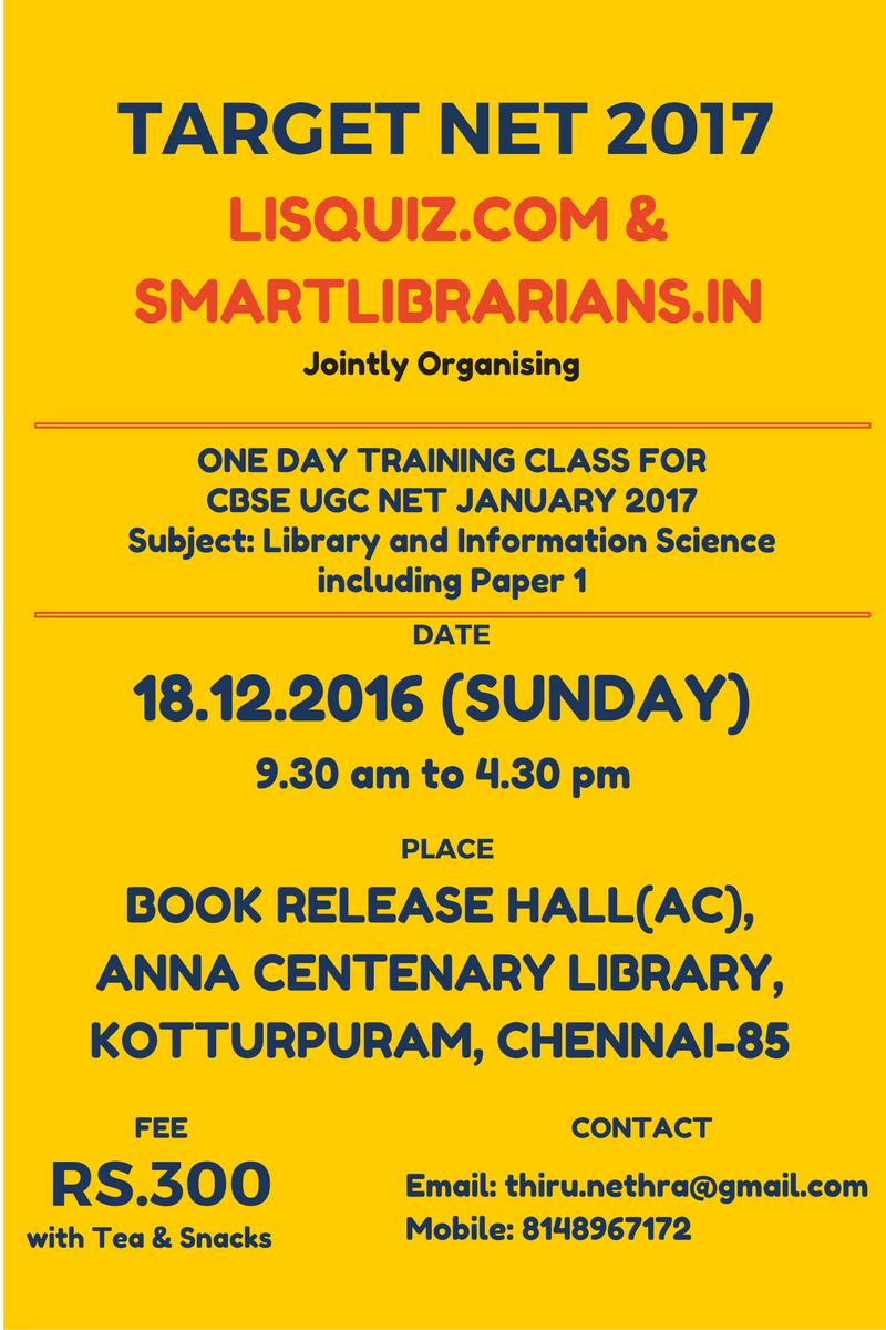 UGC NET TRAINING CLASS