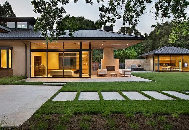 Modelos de fachadas de casas de campo for Modelos de casas de campo modernas