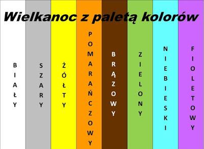 Paleta kolorów.
