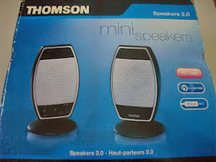 Colunas Thomson - Mini Speakers 2.0