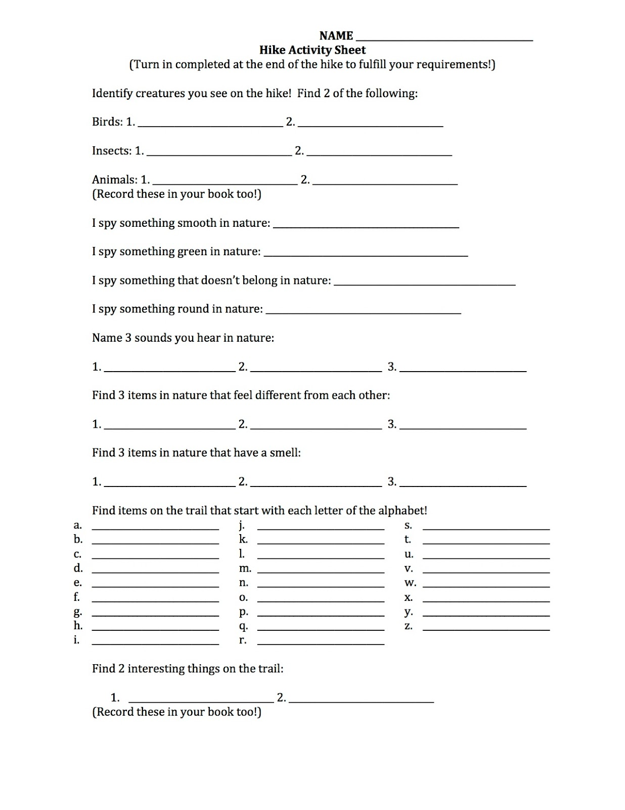 Printables Cub Scout Worksheets what 5 teach me cub scout hike activity worksheet its a 2 page document that you can download here pictured above is only the first i printed these back to so each will get 1 pag