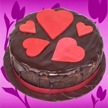 torta al cioccolato di san valentino (clicca e condividi)