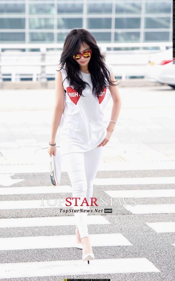 4Minute HyunA at airport
