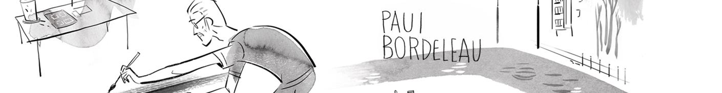 Paul Bordeleau illustration BD