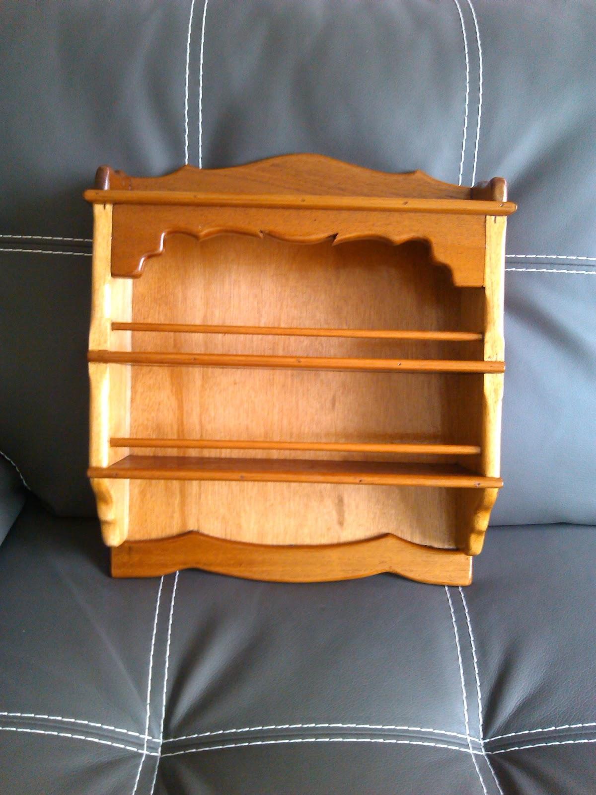 Todo de madera especieros de madera - Revestir pared con madera ...