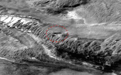 Giant Disc UFO Found On Mars 2015, UFO Sighting News