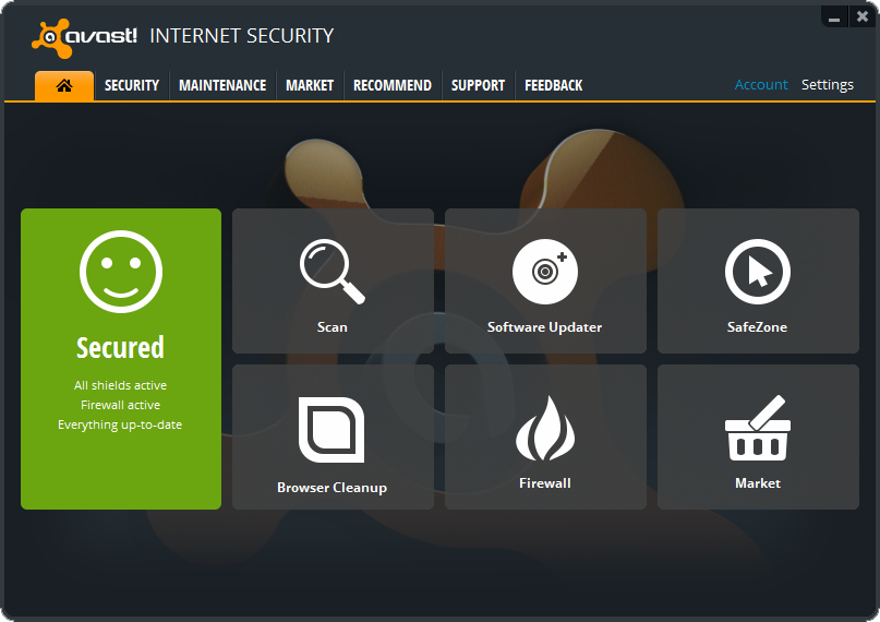 avast! Internet Security  8.0.1489 With License