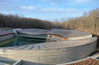 picture of Crystal Bridges Art Museum in Bentonville, Arkansas