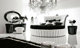 foto habitación en blanco y negro
