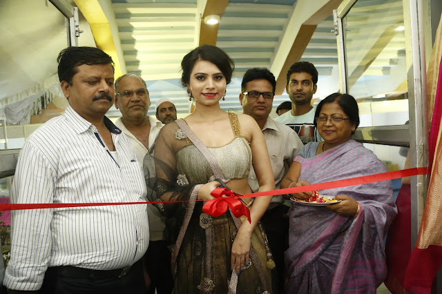 Priyanka launches National Silk Expo at Satya Sai Nigamagamam, Srinagar Colony