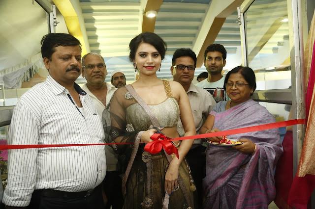 Priyanka launches National Silk Expo at Satya Sai Nigamagamam, Srinagar Colony